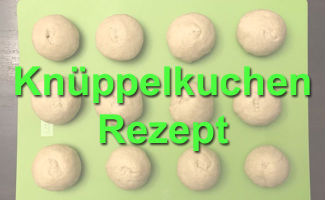 Knüppelkuchen Rezept - Beitragsbild