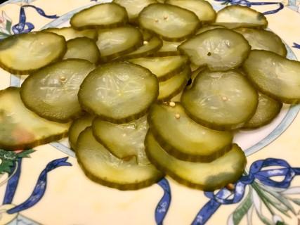 Burger selbst gemacht - Gewürzgurken
