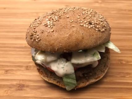 Burger selbst gemacht - Das Endergebnis