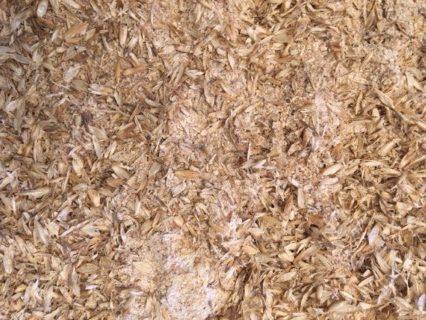 Getreide selbst mahlen - feinere Anteile und Spelzen